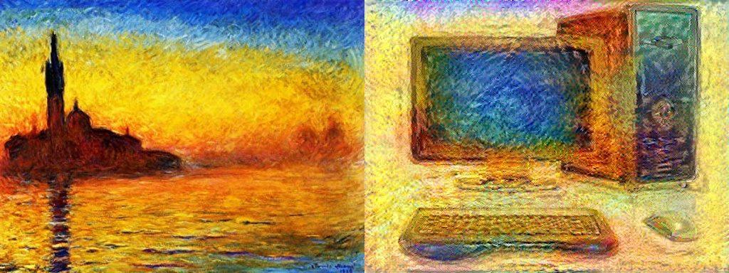 intelligenza artificiale artista